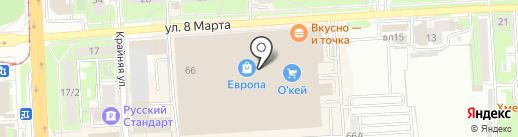 Felicia на карте Липецка