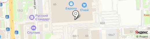 Телефон.ру на карте Липецка