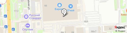 Магазин сыров на карте Липецка