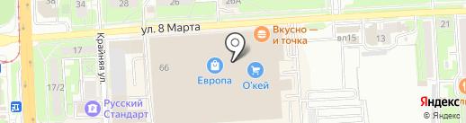 Santiga на карте Липецка