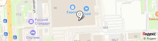 СТРАХОВОЙ на карте Липецка