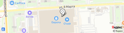 Mybox на карте Липецка