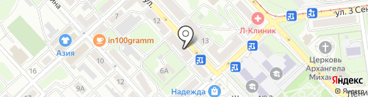 DaVinci на карте Липецка