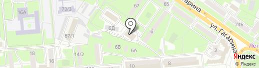 Бухгалтерский Советник на карте Липецка