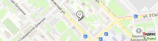 ЛПК на карте Липецка