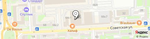 Салон репродукций картин на карте Липецка