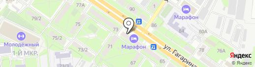 Импорт-Авто на карте Липецка