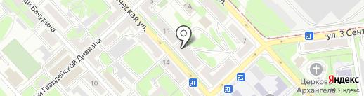 Рубль Бум на карте Липецка