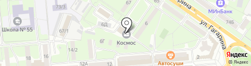 Калина Агро на карте Липецка