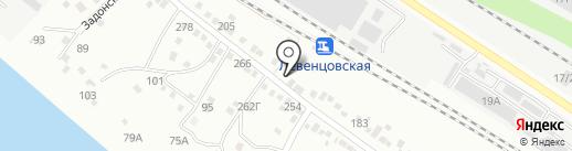 Почтовое отделение №55 на карте Ростова-на-Дону