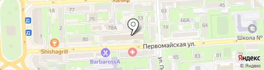 Мастер сервис на карте Липецка
