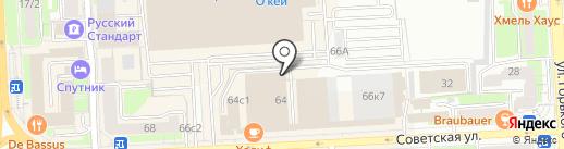 Служба доставки товаров из IKEA на карте Липецка