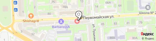 Центр кредитования и сбережений, КПК на карте Липецка
