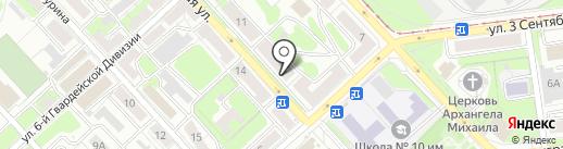 Магазин бижутерии на карте Липецка