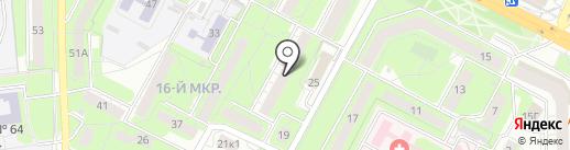 Ирма на карте Липецка
