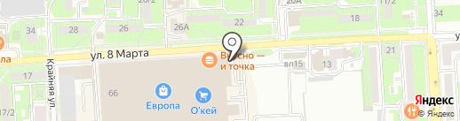 Комплектстрой на карте Липецка