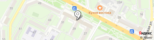 Почтовое отделение №59 на карте Липецка