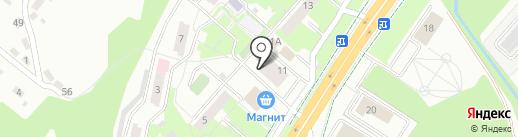 Почтовое отделение №8 на карте Липецка