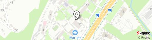 Пролек на карте Липецка