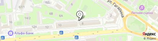 Samsung на карте Липецка