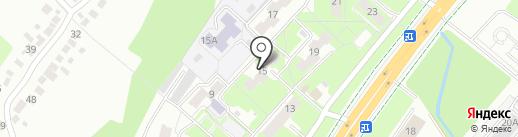 Общежитие на карте Липецка