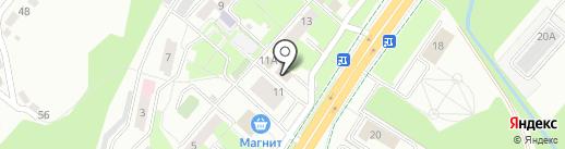 Хомяк на карте Липецка