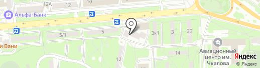 Городок на карте Липецка