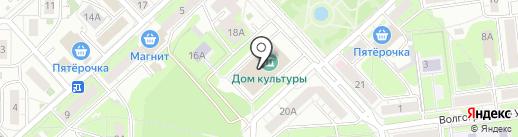 Лоона на карте Липецка