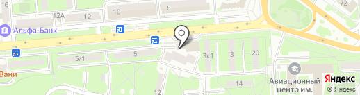 РТ Доставка на карте Липецка