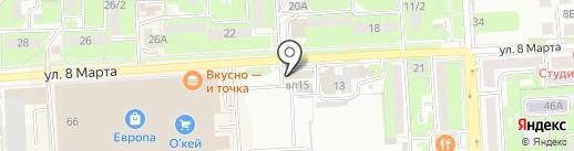 СТП-Липецкое станкостроительное предприятие, ПАО на карте Липецка