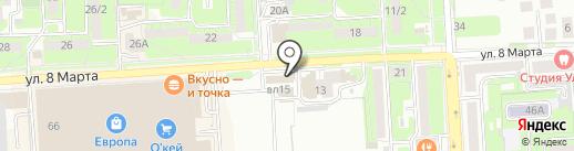 BARHAT на карте Липецка
