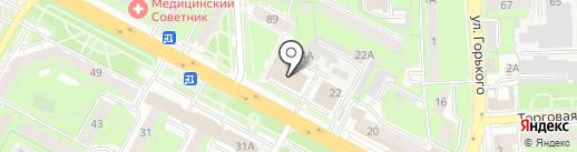 Премьера на карте Липецка