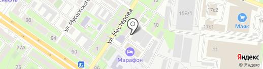 Самед+ на карте Липецка
