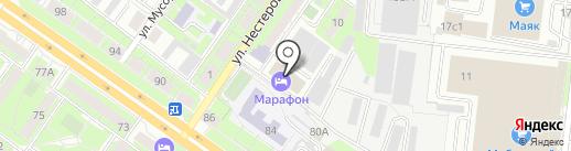 ПРОТЕК на карте Липецка