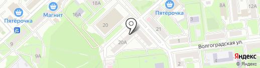 Почтовое отделение №13 на карте Липецка