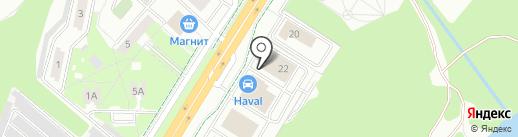 Ринг Сервис на карте Липецка