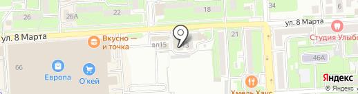 Центр безопасности на карте Липецка