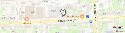 НаследникЪ Выжанова на карте Липецка