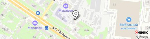 Липецкгипрозем на карте Липецка