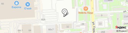 Автоцентр-М на карте Липецка