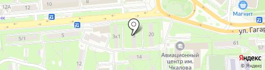 Вестфалия на карте Липецка