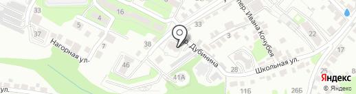 ЛипОтель на карте Липецка