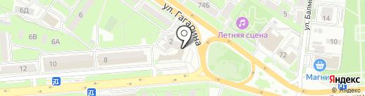 ЗАГС Октябрьского округа на карте Липецка