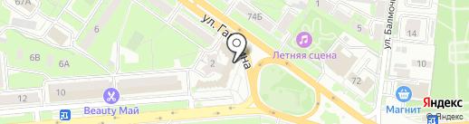 Липецкий музей народного и декоративно-прикладного искусства на карте Липецка