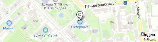 ГосГорЛомбард на карте Липецка