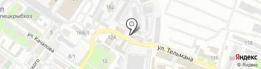 Зеон-Медиа на карте Липецка