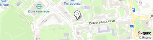 Нотариус Хвостова Р.М. на карте Липецка