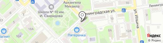 Пивной магазин на карте Липецка