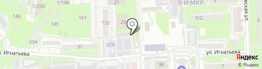 Компания по автохимчистке и полировке салона на карте Липецка