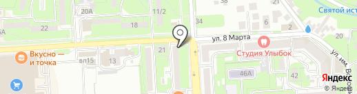 Справедливая Россия на карте Липецка
